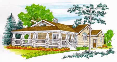Storybook craftsman cottage 46170se architectural for Storybook craftsman house plans