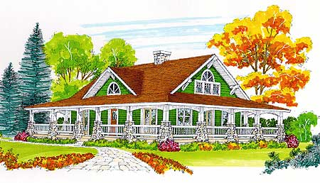 complete wrap around porch 46171se architectural designs house plans