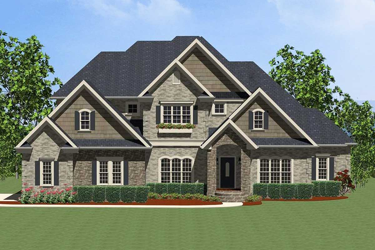 Exciting Traditional House Plan - 46237LA