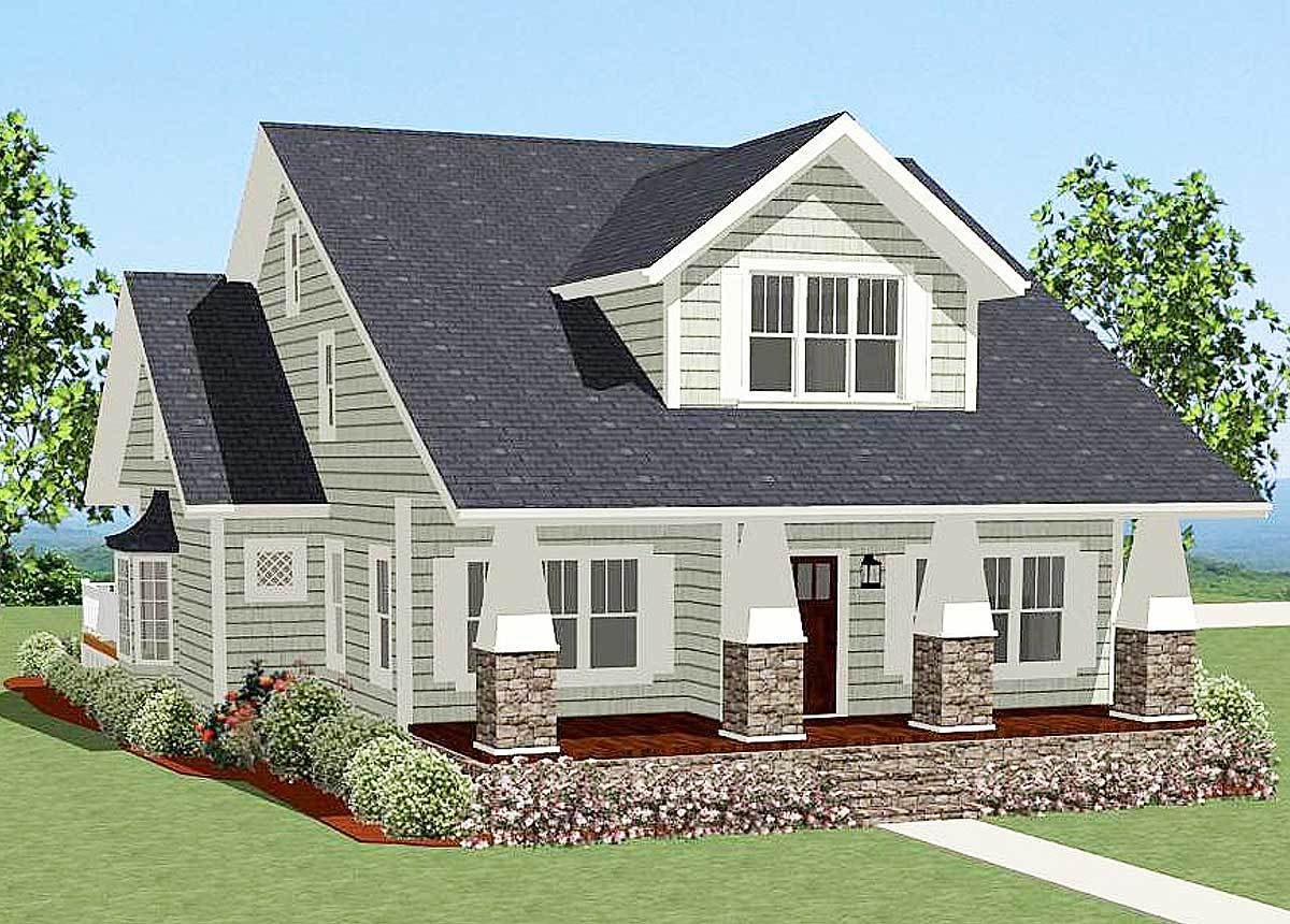 Vaulted Master Suite 46258la Architectural Designs House Plans