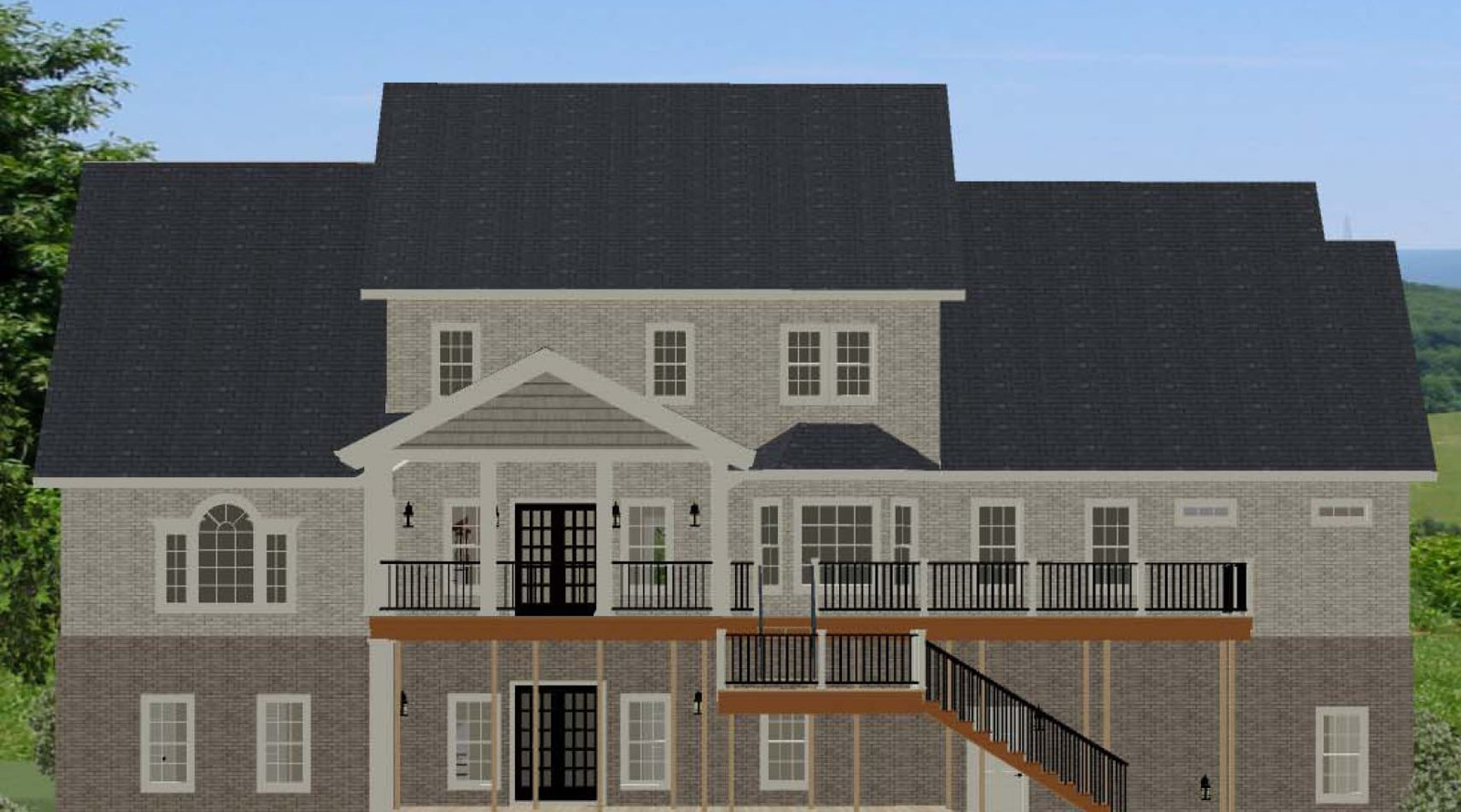 Southern house plan with lots of storage 46273la 1st for House plans with lots of storage