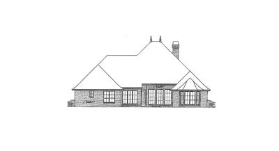Attractive French Country Exterior - 48005FM thumb - 04