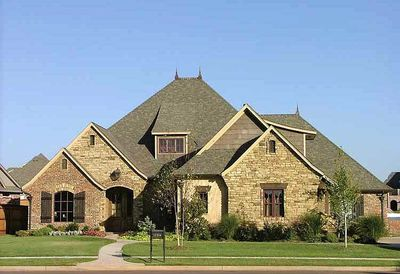 Attractive French Country Exterior - 48005FM thumb - 02