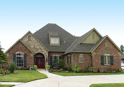 Attractive French Country Exterior   48005FM Thumb   03