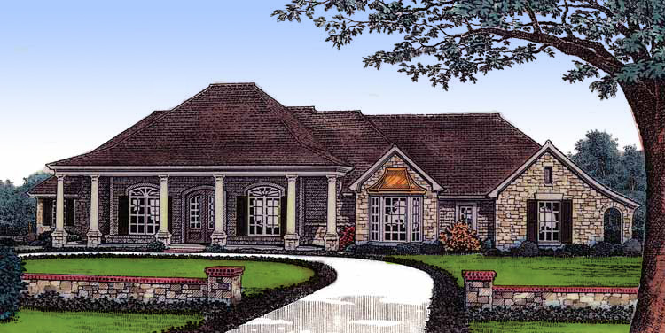 House plan with multiple exteriors 48084fm 1st floor for Architecturaldesigns com house plan 56364sm asp