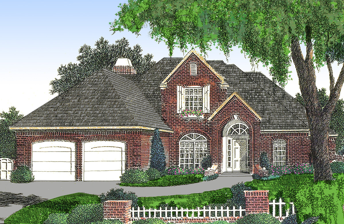 Four versions to choose from 48109fm architectural for How to choose a house plan