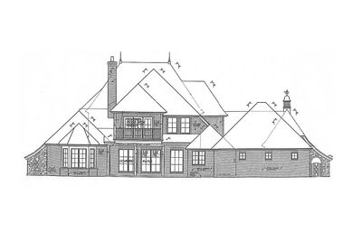 Home Plan with Private Parking Courtyard - 48128FM thumb - 02