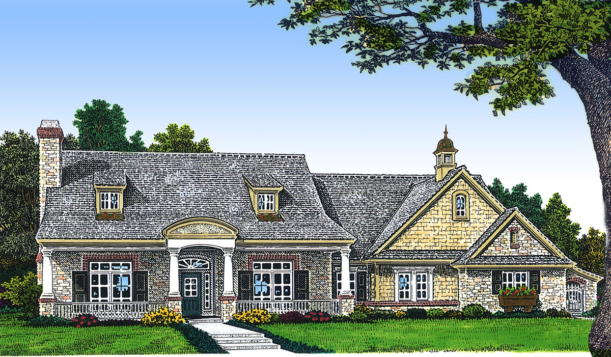 Take A Look Our Newtraditional Ranch Style Design together with 3681 Sq Ft Home 1 Story 4 Bedroom 3 Bath House Plans Plan63 410 besides Pid 15275367 as well Mls 778860 6108 clematis drive dayton oh 45449 additionally 2077 Square Feet 3 Bedroom 2 Bathroom 2 Garage Farmhouse Traditional Country Craftsman 41201. on covered front porch rear patio 2 car