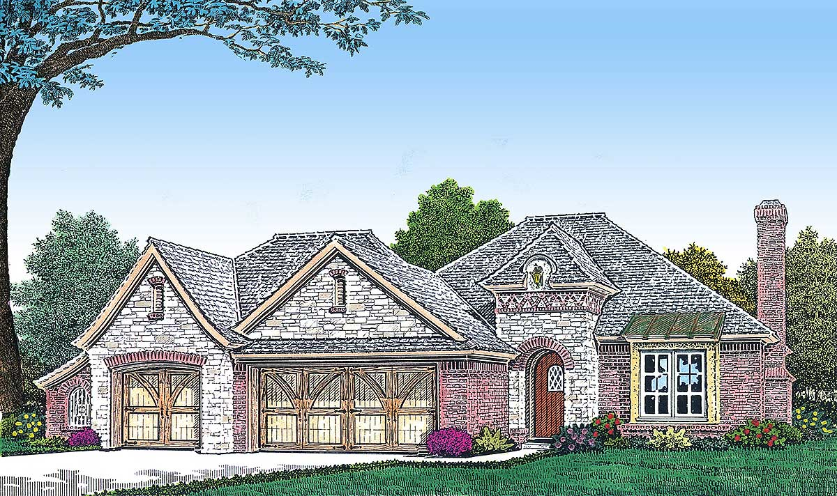 Architectural designs for Retirement home plans small