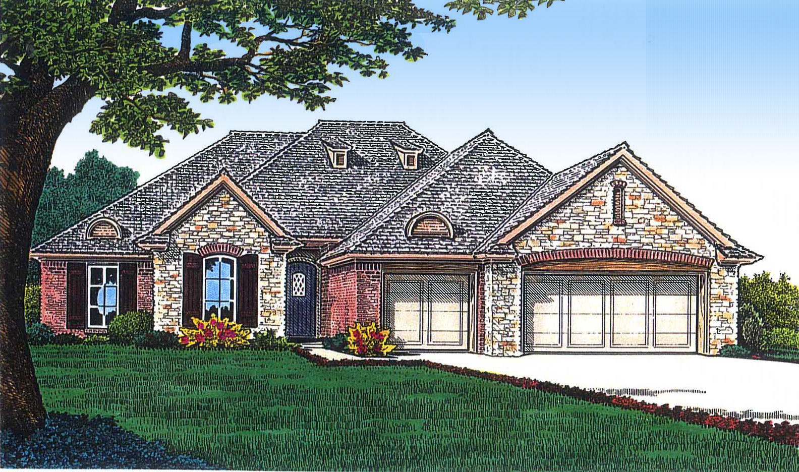 Manageable size 48347fm architectural designs house for Architecturaldesigns com house plan 56364sm asp