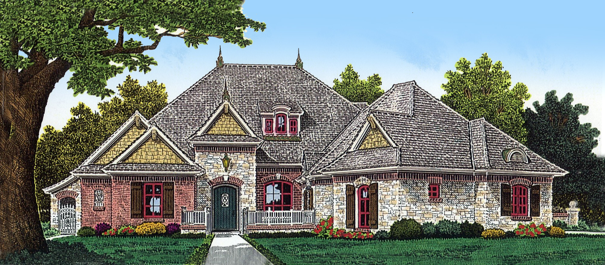Study in front 48378fm architectural designs house plans for Architecturaldesigns com house plan 56364sm asp