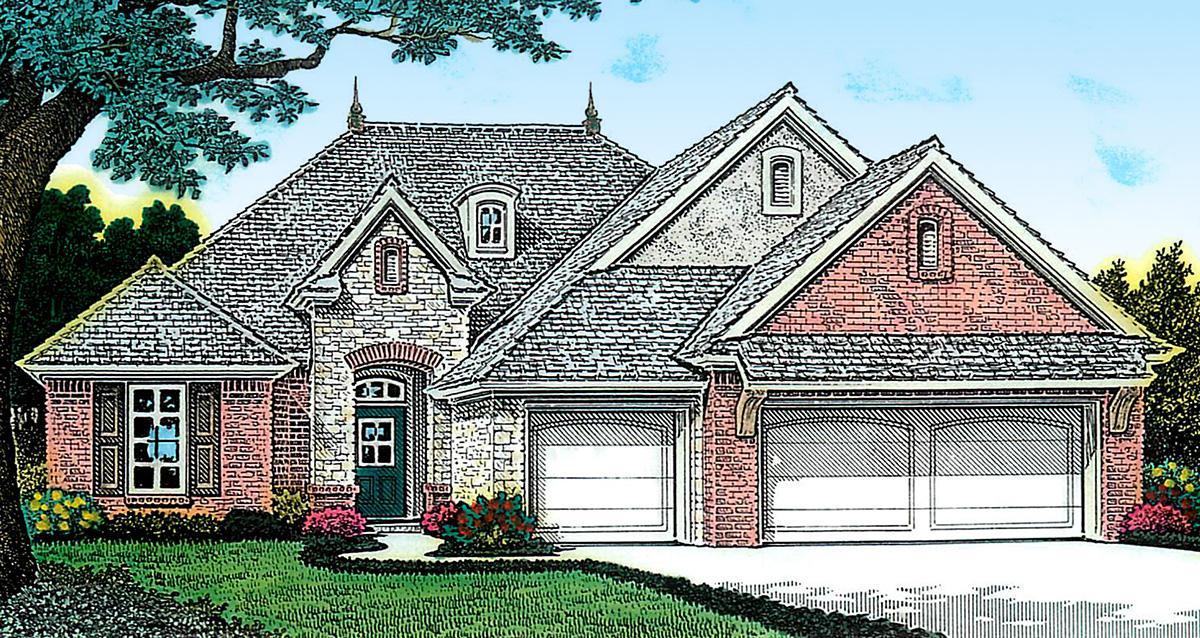 Fabulous open floor plan 48411fm architectural designs for Architecturaldesigns com house plan 56364sm asp
