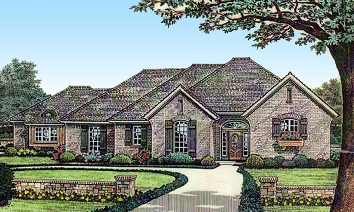 Petite european house plan 48469fm architectural for European plan