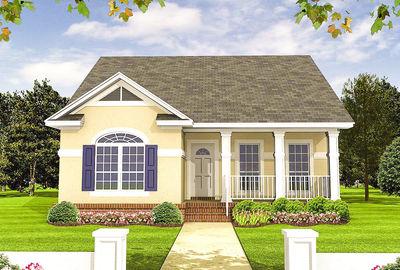 Energy-Saving House Plan - 51011MM thumb - 01