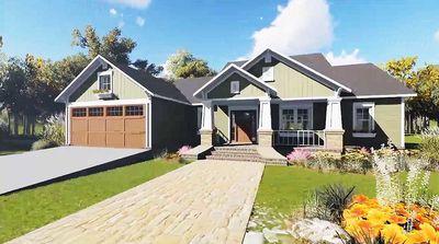 Charming Craftsman House Plan - 51040MM thumb - 02