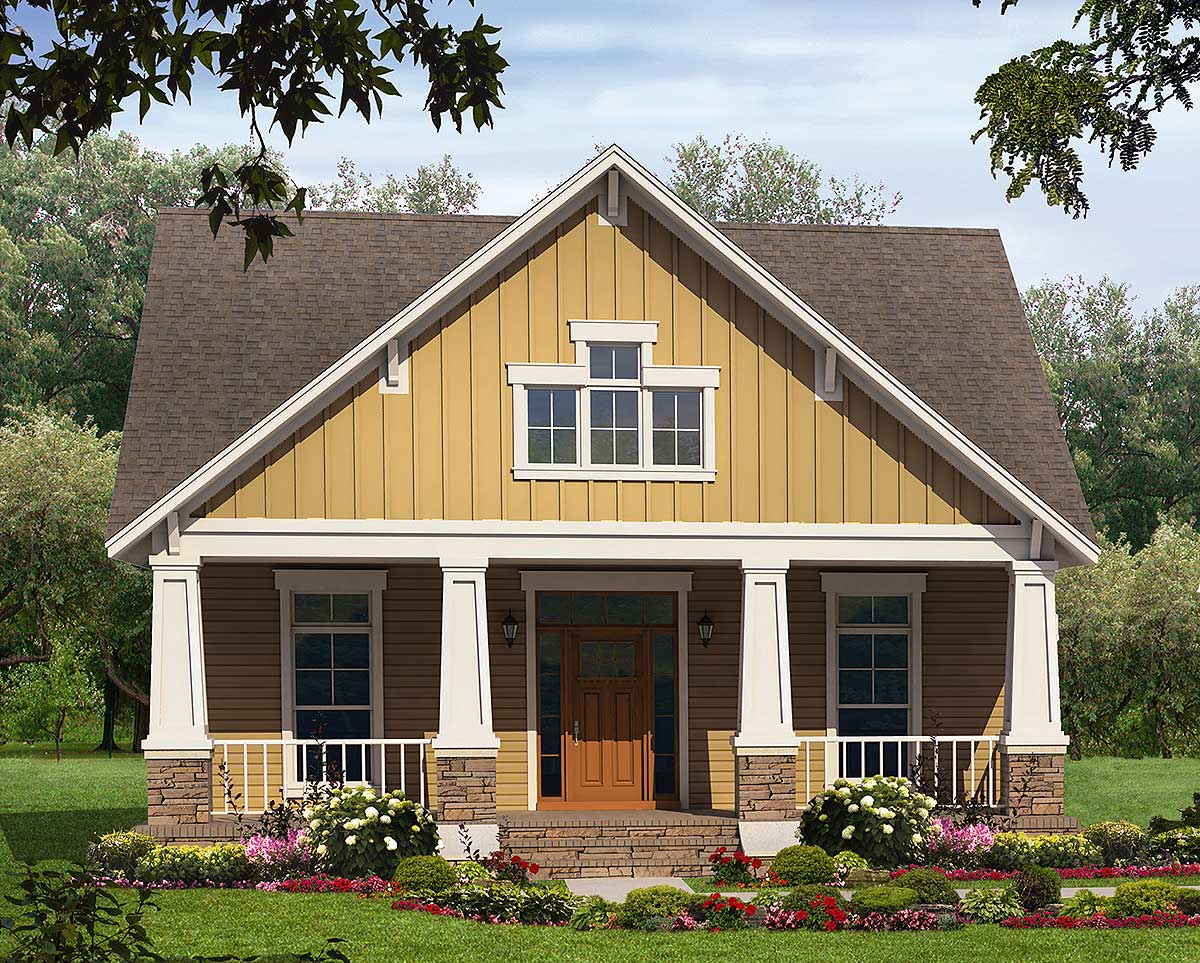 Tidy craftsman home plan 51042mm architectural designs for Architecturaldesigns com house plan 56364sm asp