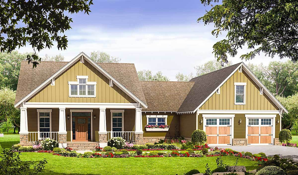 Beautiful Craftsman House Plan 51043MM Architectural Designs