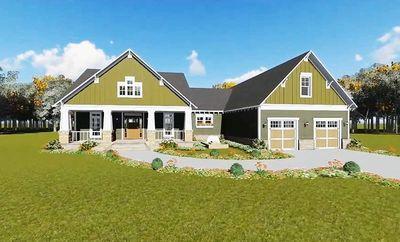 Beautiful Craftsman House Plan - 51043MM thumb - 05