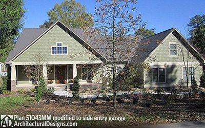 Beautiful Craftsman House Plan - 51043MM thumb - 02