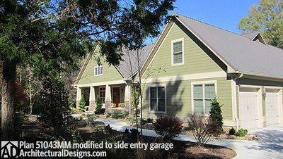 Beautiful Craftsman House Plan - 51043MM thumb - 03