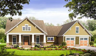 Beautiful Craftsman House Plan - 51043MM thumb - 01