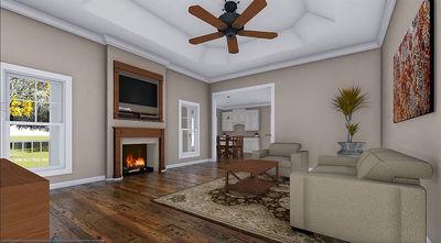 Beautiful Craftsman House Plan - 51043MM thumb - 11