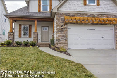 House Plan 51047MM comes to life in Tennessee! - photo 003