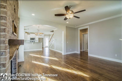 House Plan 51047MM comes to life in Tennessee! - photo 004