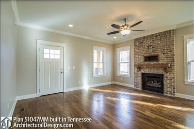 House Plan 51047MM comes to life in Tennessee! - photo 006