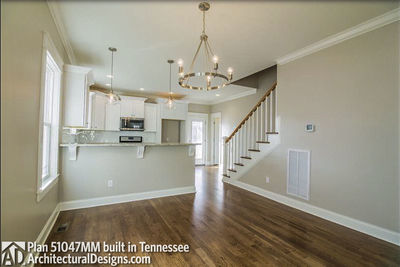 House Plan 51047MM comes to life in Tennessee! - photo 005
