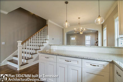 House Plan 51047MM comes to life in Tennessee! - photo 007