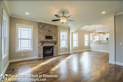 House Plan 51047MM comes to life in Tennessee! - photo 009