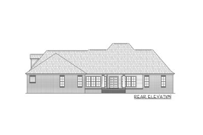Four Bedroom Split-Bedroom House Plan - 51063MM thumb - 08