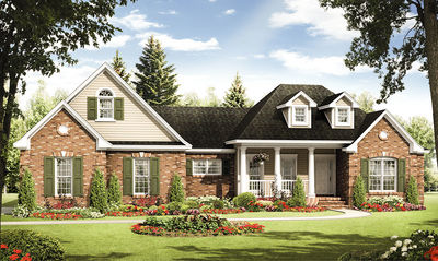 Inviting Country Home Plan - 51068MM thumb - 01