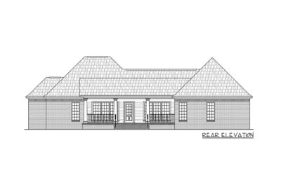 Inviting Country Home Plan - 51068MM thumb - 06