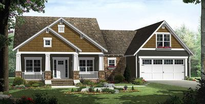 Craftsman with Great Porches - 51088MM thumb - 01