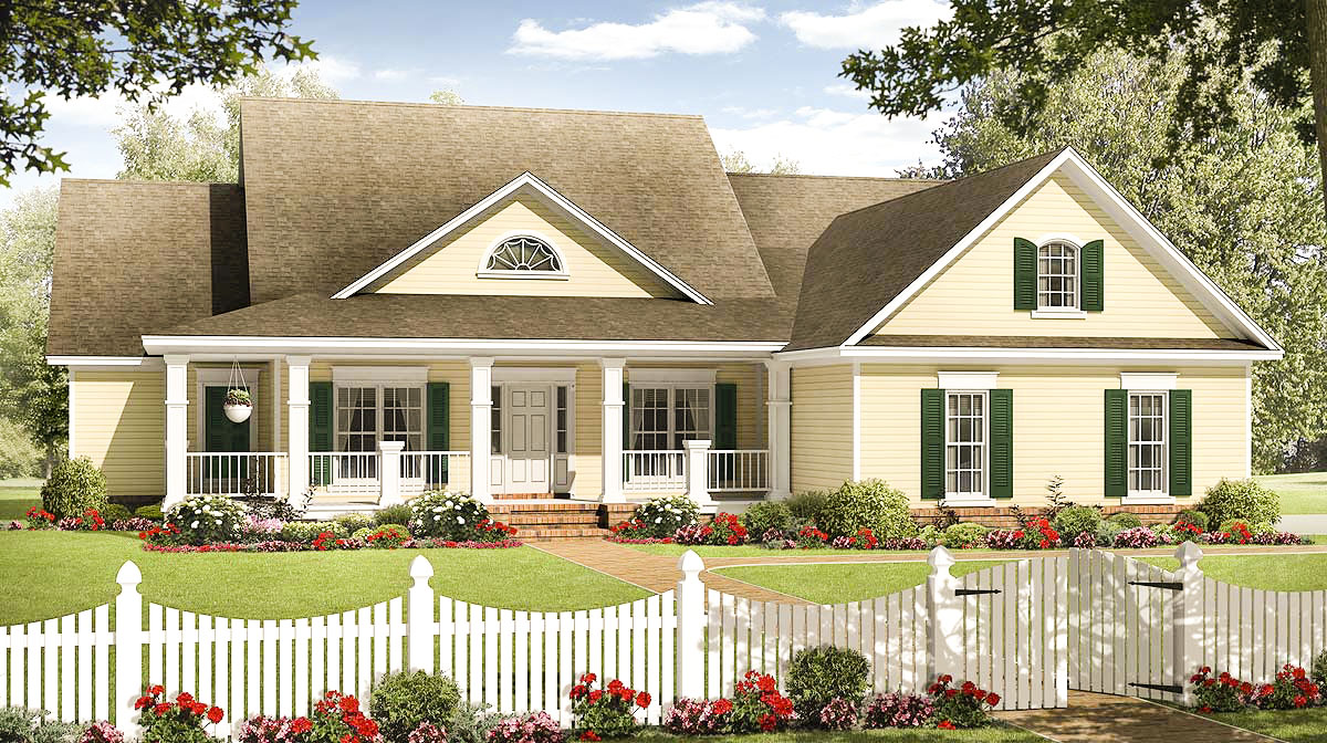 Charming Country Exterior 51089mm Architectural