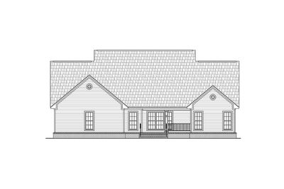 Charming country porch 51092mm 1st floor master suite for Usda house plans
