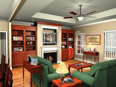 Highly Functional Split-Bedroom Floorplan - 5110MM thumb - 04