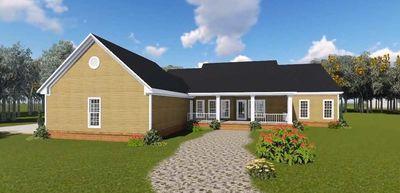 Country Plan with Bonus Room - 51104MM thumb - 05