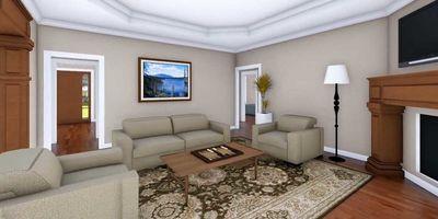Country Plan with Bonus Room - 51104MM thumb - 10