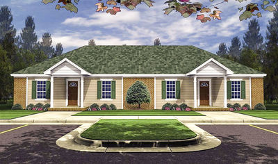 Beautiful 3 Bedroom Duplex In Many Sizes   51114MM Thumb   01