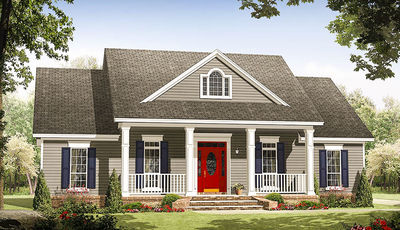 Traditional House Plan With Options   51125MM Thumb   01