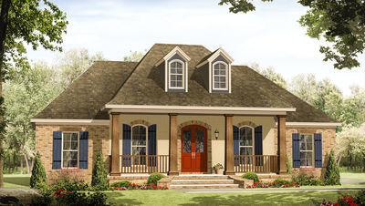 3 Bed Acadian in Multiple Versions - 51126MM thumb - 01