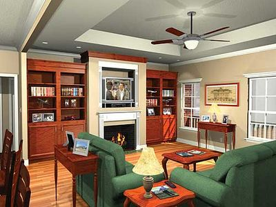 Traditional Home Plan with Split Bedrooms - 5119MM thumb - 03