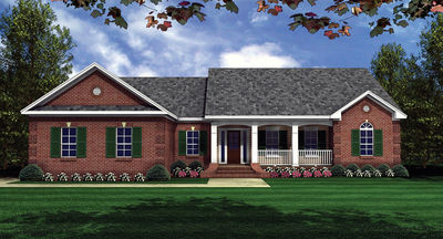 Traditional Home Plan with Split Bedrooms - 5119MM thumb - 01