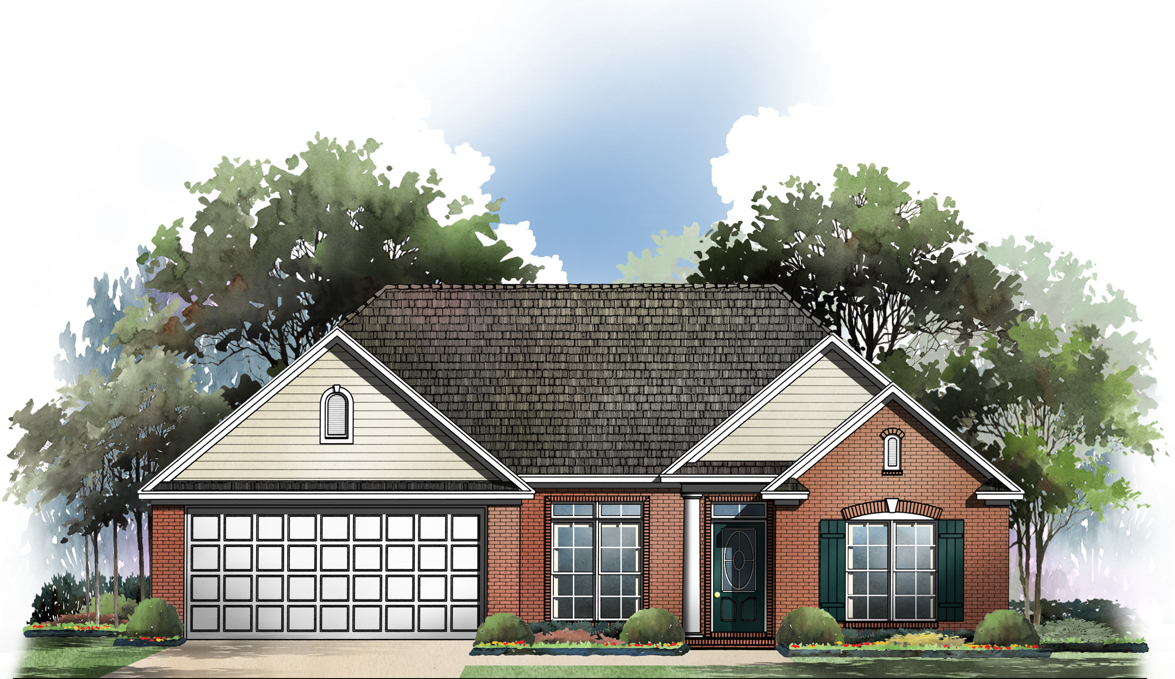 Family friendly open floorplan 5159mm 1st floor master for Usda house plans