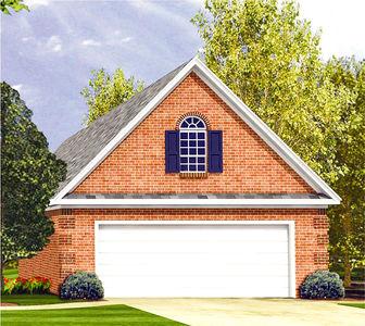 Traditional Garage Plan - 5166MM thumb - 01