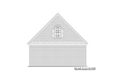 Traditional Garage Plan - 5166MM thumb - 02