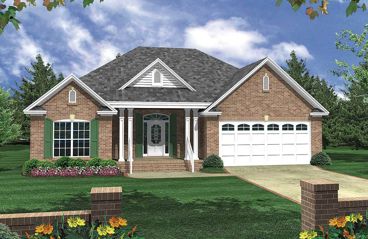 Highly functional house plan 5173mm architectural Functional house plans